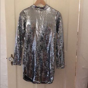 Reflective party dress